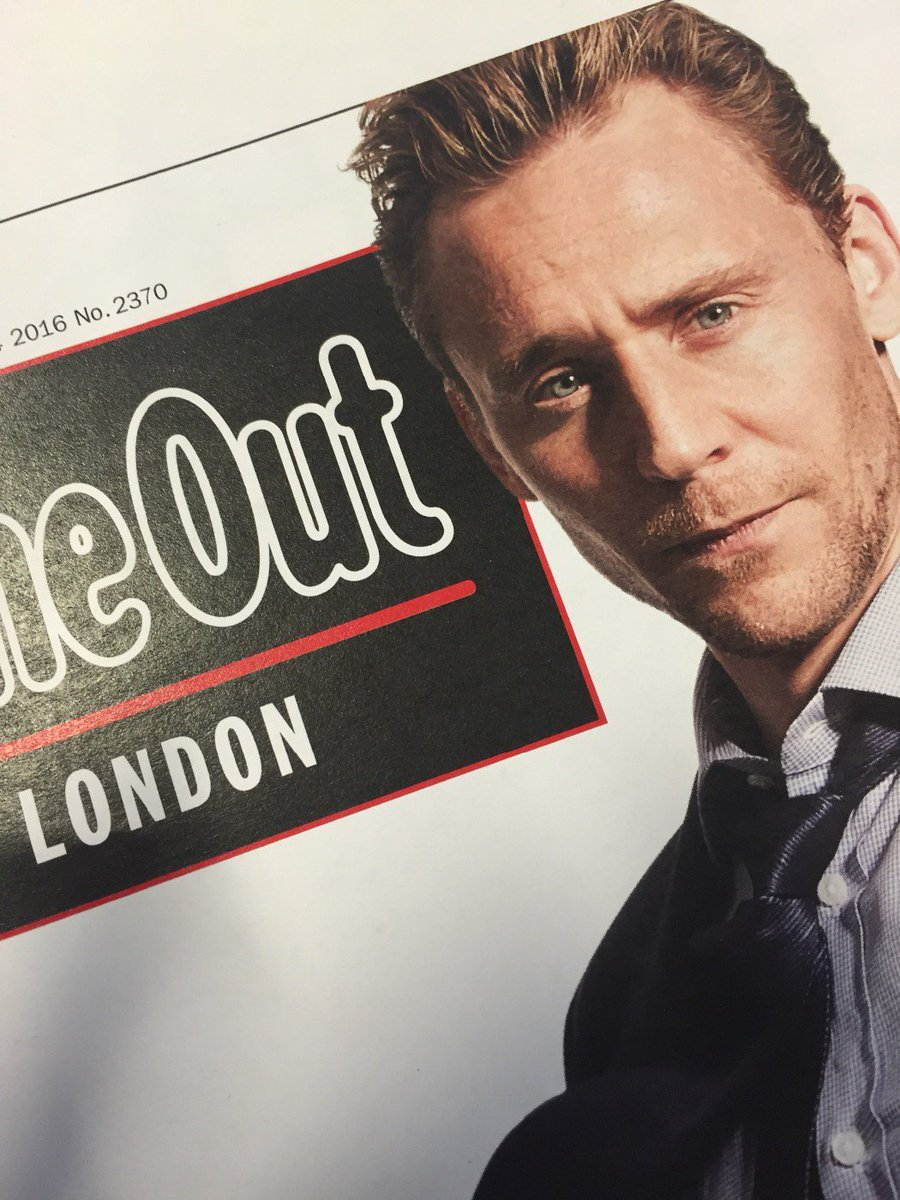 We reckon Tom Hiddleston fans will like next week's @TimeOutLondon. https://t.co/1XaTjubZgi