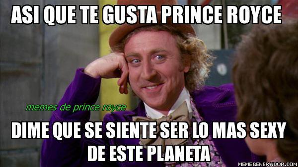 Comparte tu meme favorito de @PrinceRoyce con los hashtags: #PrinceRoyceMeme #KQ105 MEMES: https://t.co/zH2kxTXTag https://t.co/lAGf3Xnjky