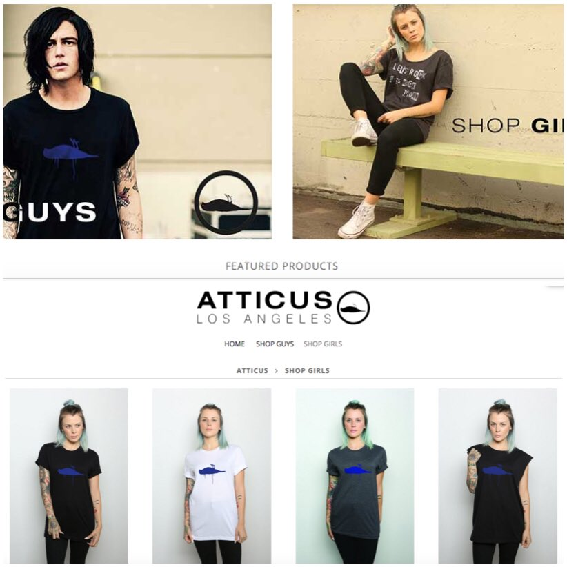 Head on over to @atticusclothing and get some thangs. You also can see @Kellinquinn and I looking cool and stuff. https://t.co/0SrbxA0MK3