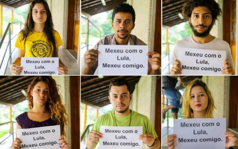 Movimentos sociais ligados a juventude manifestam apoio a Lula https://t.co/WBkksOcYC9 https://t.co/6Mlj4ddSt2