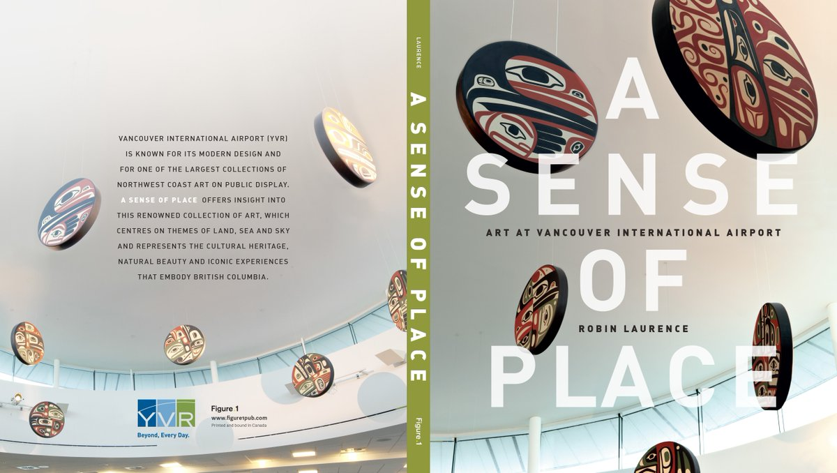 Happy WorldBookDay! We recommend A Sense of Place, all about art at YVR, available @amazon: