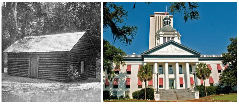 FUN FACT: On this day 192 years ago Tallahassee was named the Capital City - what a difference! #IHeartTally https://t.co/iquCIdjCX4