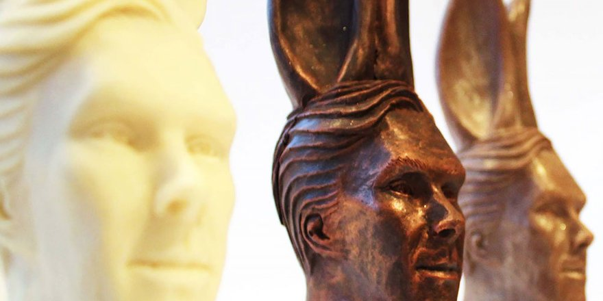 These Benedict Cumberbatch chocolate Easter bunnies are half amazing, half terrifying