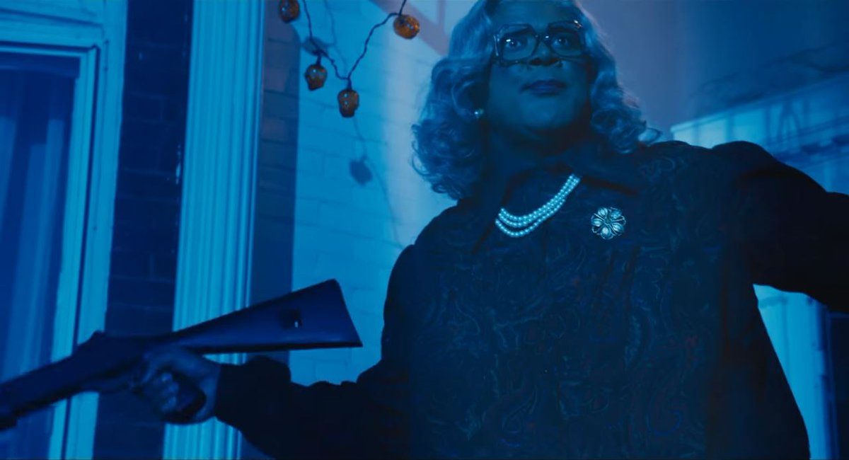 Tyler Perry returns with a shotgun blast in first trailer for