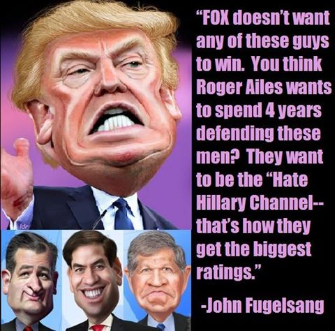 """""""Trump has totally ruined the phrase """"Little Marco"""" for the Rubios' foreplay.""""  -John Fugelsang https://t.co/sSbxEMwuOO"""