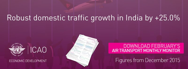 World passenger traffic grew by +5.4% Download now!