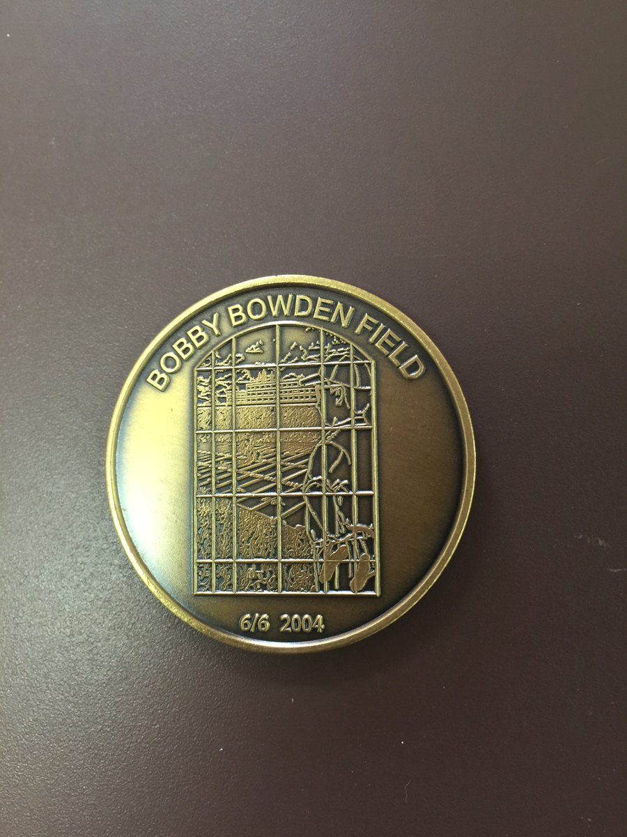 FOLLOW and RETWEET for your chance to win an authentic Bobby Bowden Field coin! It comes with a cover and 3 will go! https://t.co/Z2Xq4tawQp