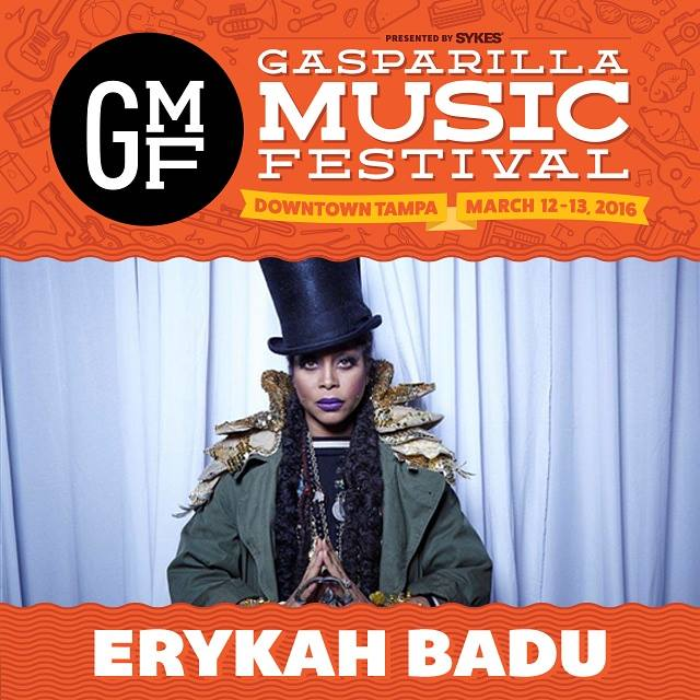 TAMPA! Giving away 2 FREE tickets to see @fatbellybella (Erykah Badu) live at @GasparillaMusic next Sat! RT to win! https://t.co/BonbiM5Aqi