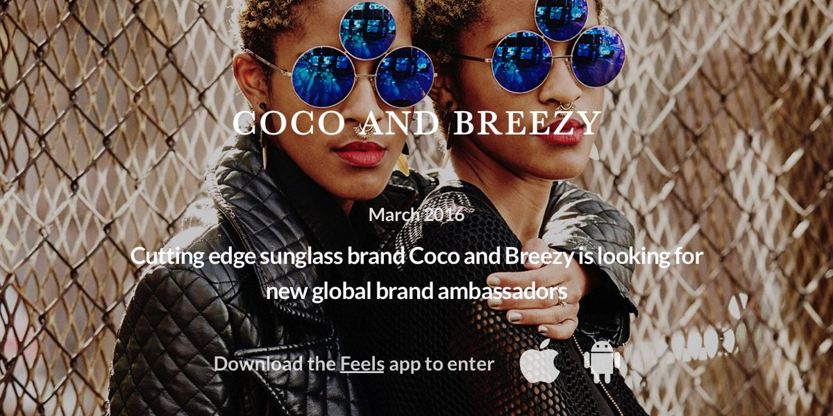 To celebrate the upcoming launch of TRES we have teamed up with @feels to find global brand ambassadors! https://t.co/Z718376eVE
