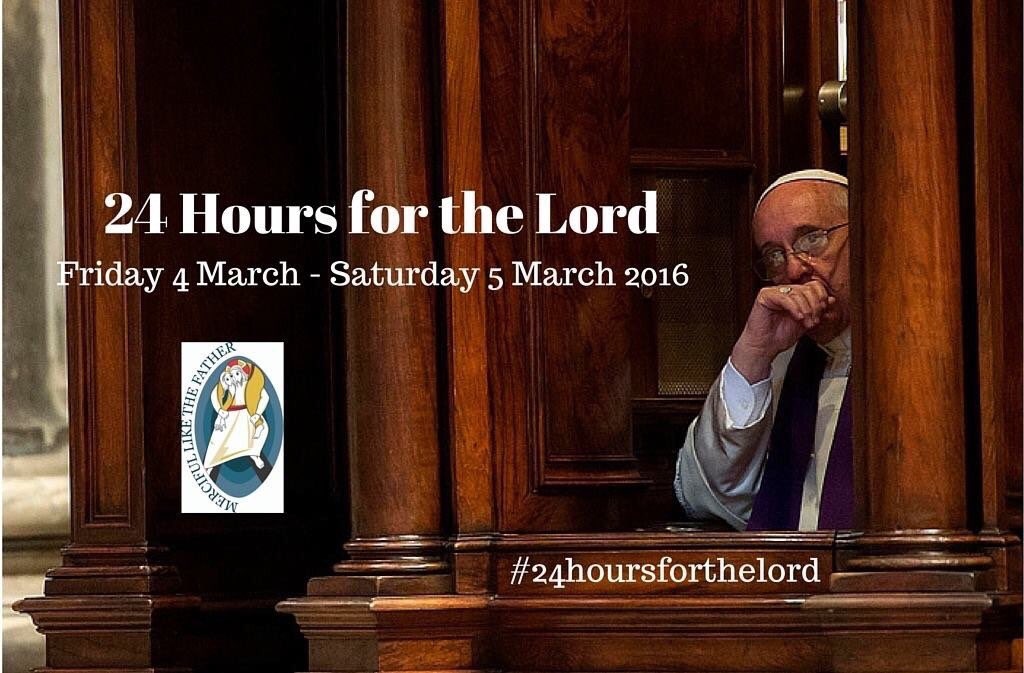 Many churches are staying open right through the night for quiet prayer & Confession as part of #24hoursfortheLord https://t.co/iIUrrMGqTT