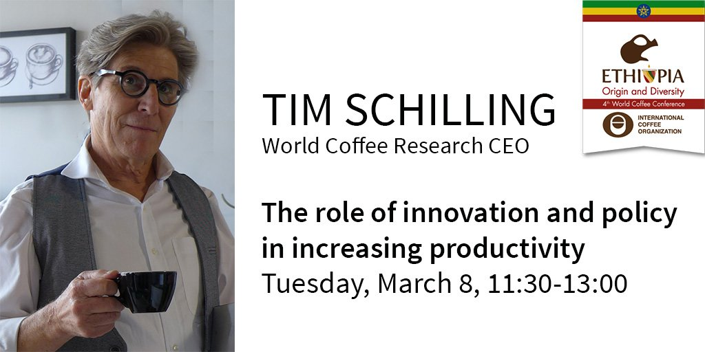 We need 25m more bags of coffee by 2026. Where is it going to come from? R&D! Join us at @ICOCoffeeOrg #coffee2016 https://t.co/vxfipzCuQ4
