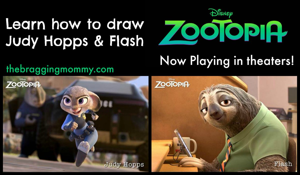 Learn how to draw Judy Hopps & Flash @DisneyZootopia! https://t.co/9uNli2gUfE #Zootopia now playing! #ZootopiaEvent https://t.co/du0V4KS8MH