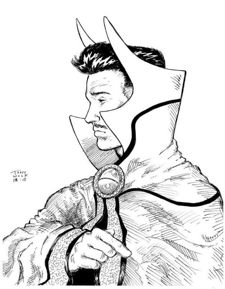 Drew Doctor Strange #Marvel #comics #art #illustration https://t.co/KWt7klWxfW