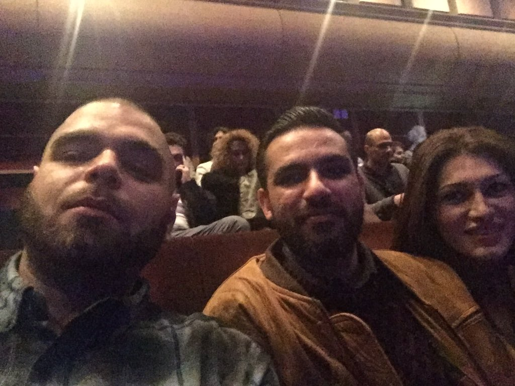At the Shahram Nazeri concert at Barbican with @HichkasOfficial , waitin on @IbrahimSincere and @7_concept1 ! https://t.co/ZdALnmXQFu