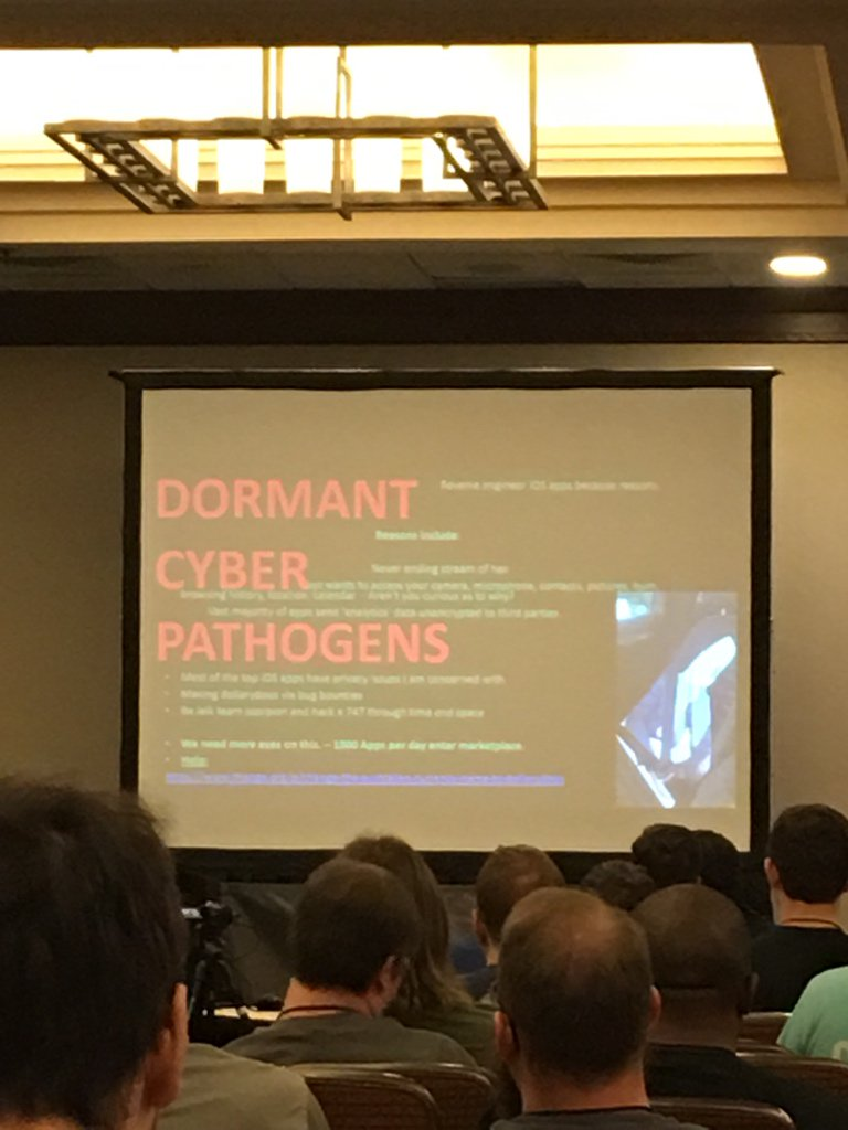 Best slide at @CarolinaCon https://t.co/qbcC9nMjc2