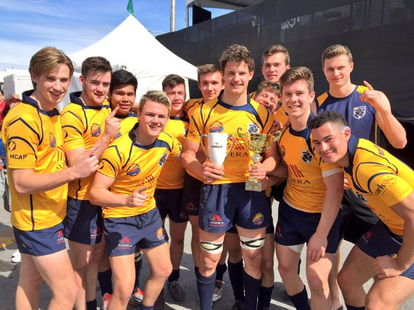 It's a brace for @bcrugbyyouth7s. This time it's the Boys U18 that win the Cup Final, 27-5 over @AtlantisRugby. https://t.co/103oqrz96z