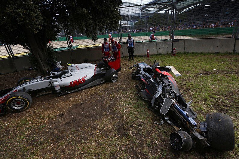 Astounds me how far safety in Formula 1 has come; look at the state of that McLaren - can't rest on laurels though