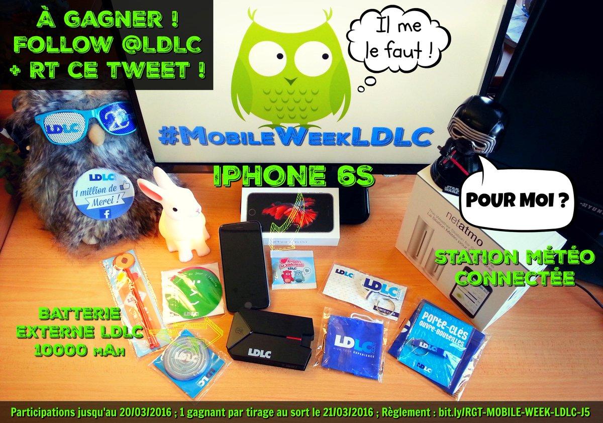 #MobileWeekLDLC