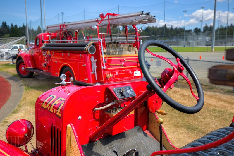 Fire Truck - Beverly Corners Show and Shine 2015 - #Duncan, Vancouver Island, BC, Canada #photography #antique https://t.co/rp57MRaVV3