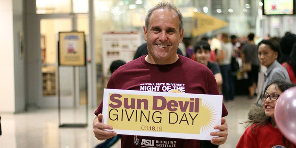 .@ASUBiodesign deserves an extra $1K for #SunDevilGiving Day because they make LIFE better https://t.co/F1Kd66zD2m https://t.co/x6suh7XQJY