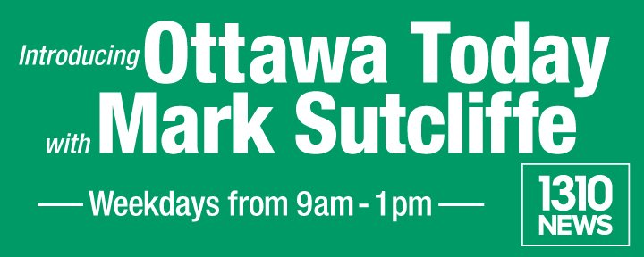 BIG ANNOUNCEMENT! @_MarkSutcliffe joins @1310NEWS team as host of #OttawaToday every Monday-Friday 9AM-1PM #ottnews https://t.co/f0vQHUxL68