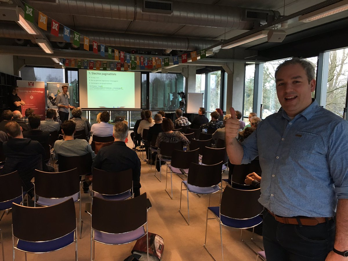 The Joomla SEO Expert Session with @simonkloostra @yireo and @PerfectWebTeam just started! Have fun! https://t.co/Qm8jSqTb2S