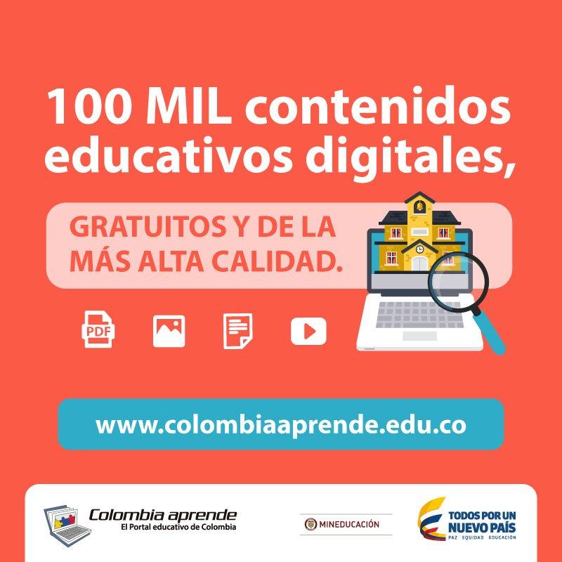 Si eres un #PiloDigital, es hora de unirte al nuevo #ColombiaAprende ¡Nos renovamos para ti! https://t.co/QfeF9F5X9A https://t.co/3aoVQi9uWd