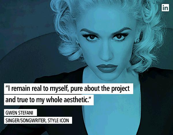 The key to success is truth. Read more from the newest LinkedIn Influencer, @gwenstefani: https://t.co/FyUT1PovSa https://t.co/wncogsrCPB