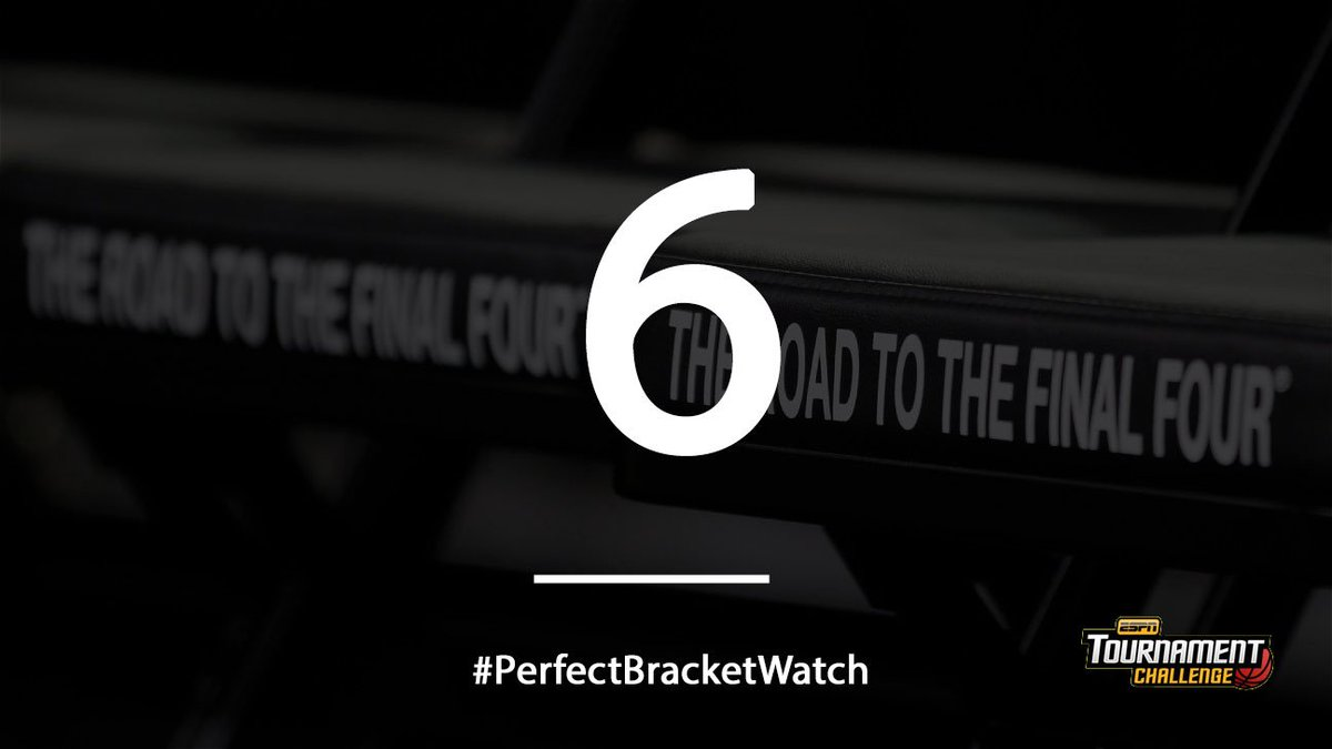 We're down to single digits in the #PerfectBracketWatch after the Michigan State loss. https://t.co/YJqKXZe5lB