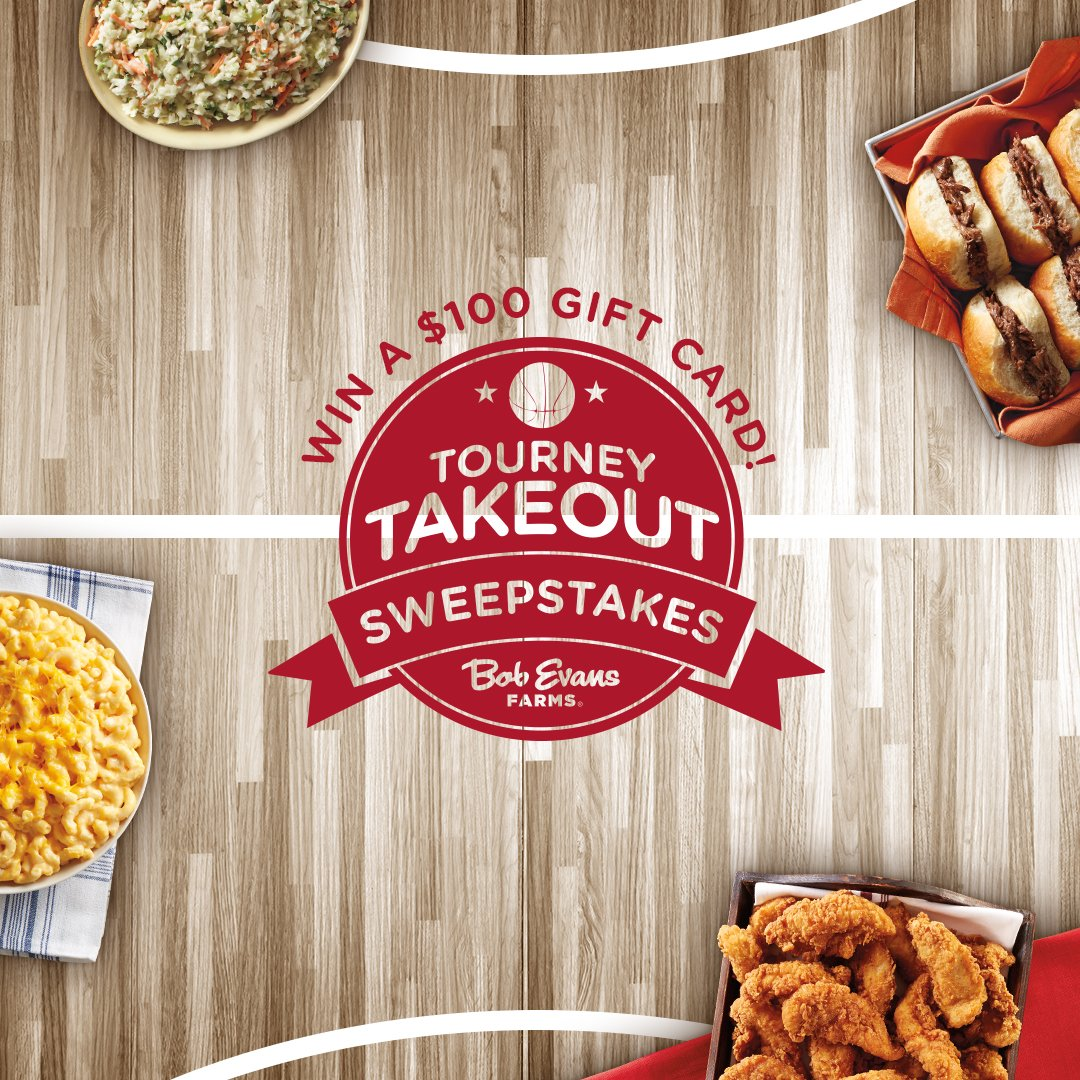 Score a $100 Bob Evans Gift Card for game-time grub. Retweet for a chance to win. https://t.co/W2IUrejRub #BESweeps https://t.co/vvOpEklaKc