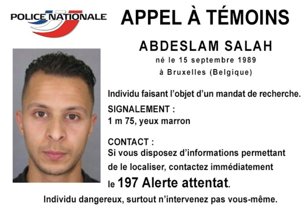 #SalahAbdeslam  arrêté ! https://t.co/kn7DwOlXWI
