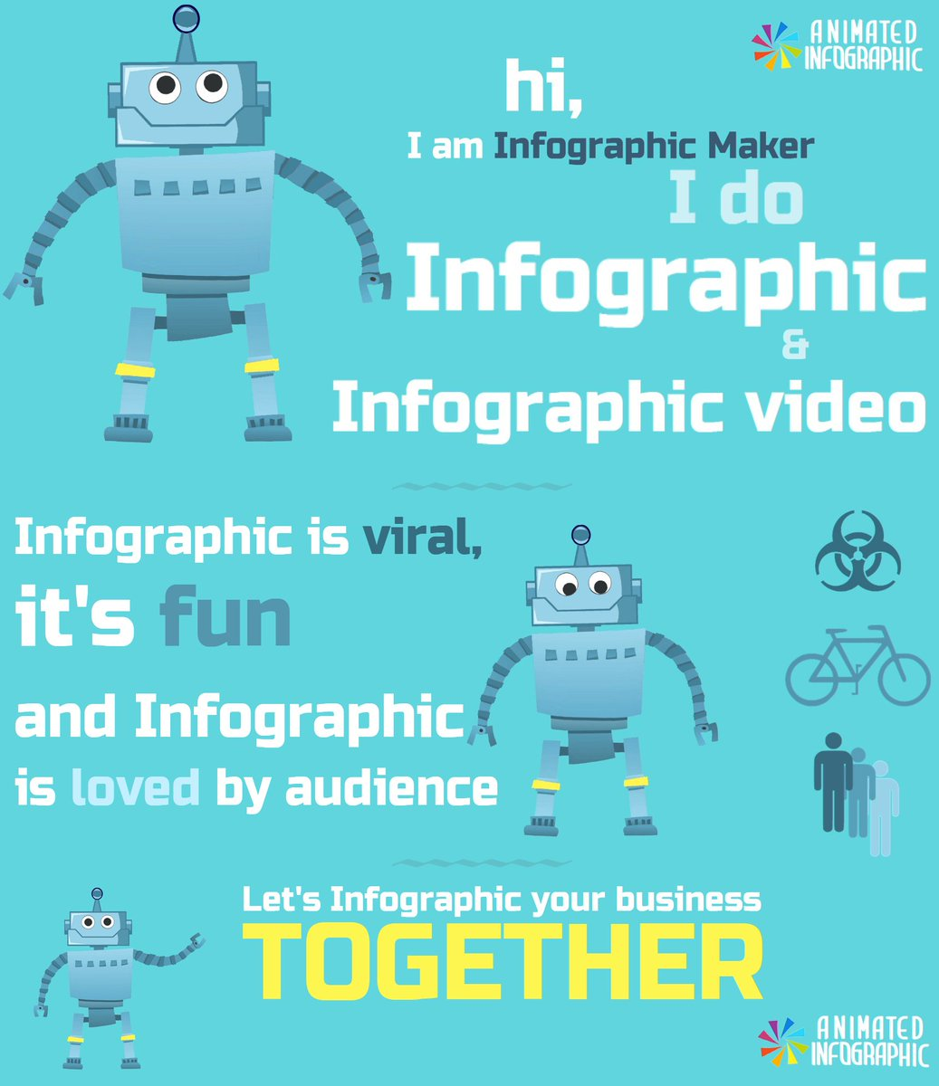 Infographic animation creator