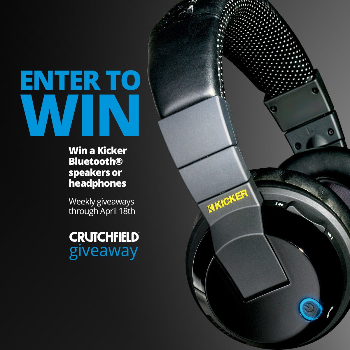 Want some free gear? Enter to win a @KICKERaudio Bluetooth speaker or headphones Good luck! https://t.co/erZ1osRlAY https://t.co/HHiGanjUy2