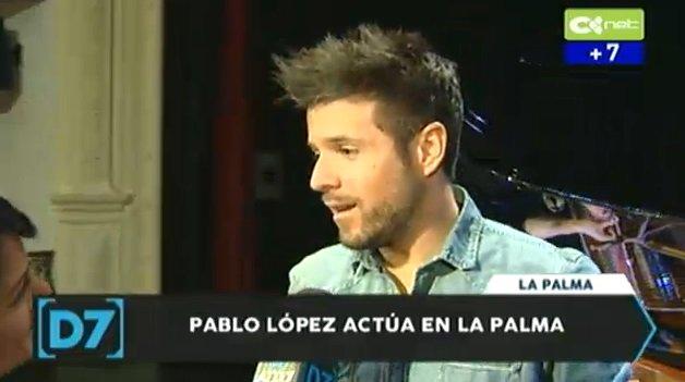 Estamos en @DirectoALas7 con Pablo López horas antes de su concierto en La Palma: https://t.co/zYkJJDWXj5 https://t.co/48AYYp1uLt