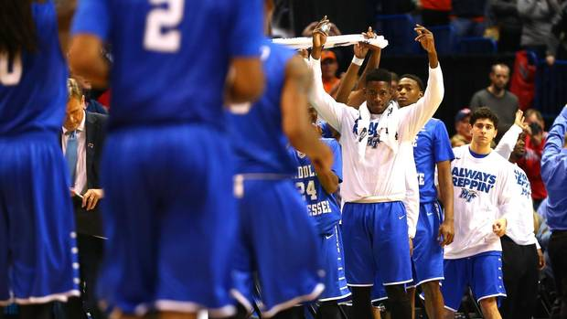 NCAA March Madness shocker: Middle Tennessee beats No. 2 seed Michigan