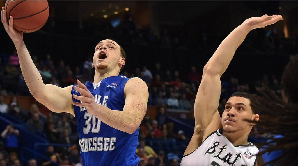 No. 15 seed Middle Tennessee State tops 2nd-seeded Michigan State in NCAA Tournament