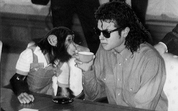 Michael Jackson's pet chimp is receiving the stop-motion treatment in 'Bubbles':