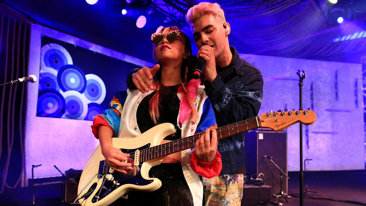 .@DNCE is SLAYING SXSW with these covers of TLC and 'Thong Song.' Listen: