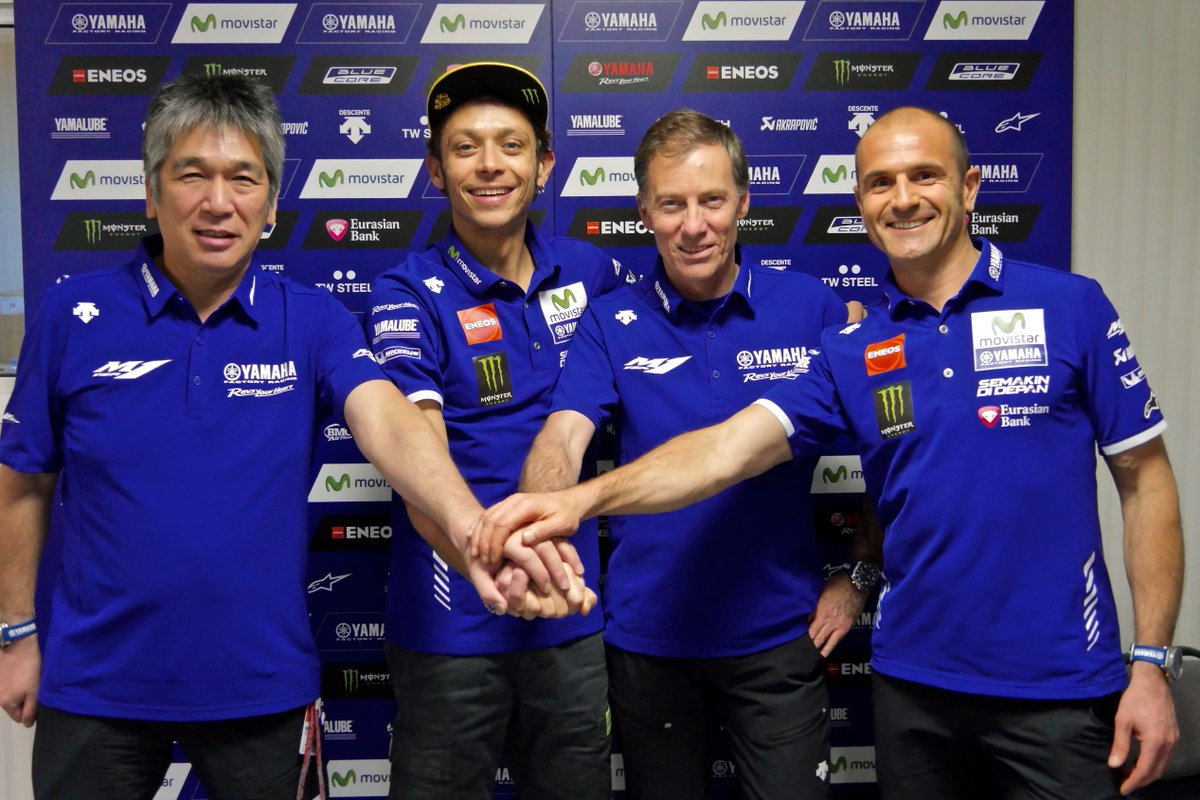 NEWS - Yamaha and @ValeYellow46 Confirm Two-Year Contract Extension https://t.co/uS8jWZ8nmn #MotoGP https://t.co/KDWZeDM5vL