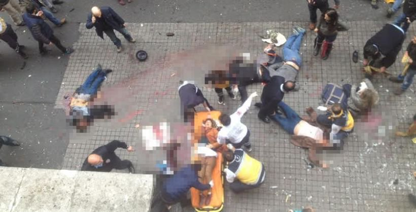 İstiklal Caddesi'nde canlı bomba saldırısı: 2 kişi yaşamını yitirdi, 7 yaralı https://t.co/ABTqPL365U https://t.co/aDmbumK32u