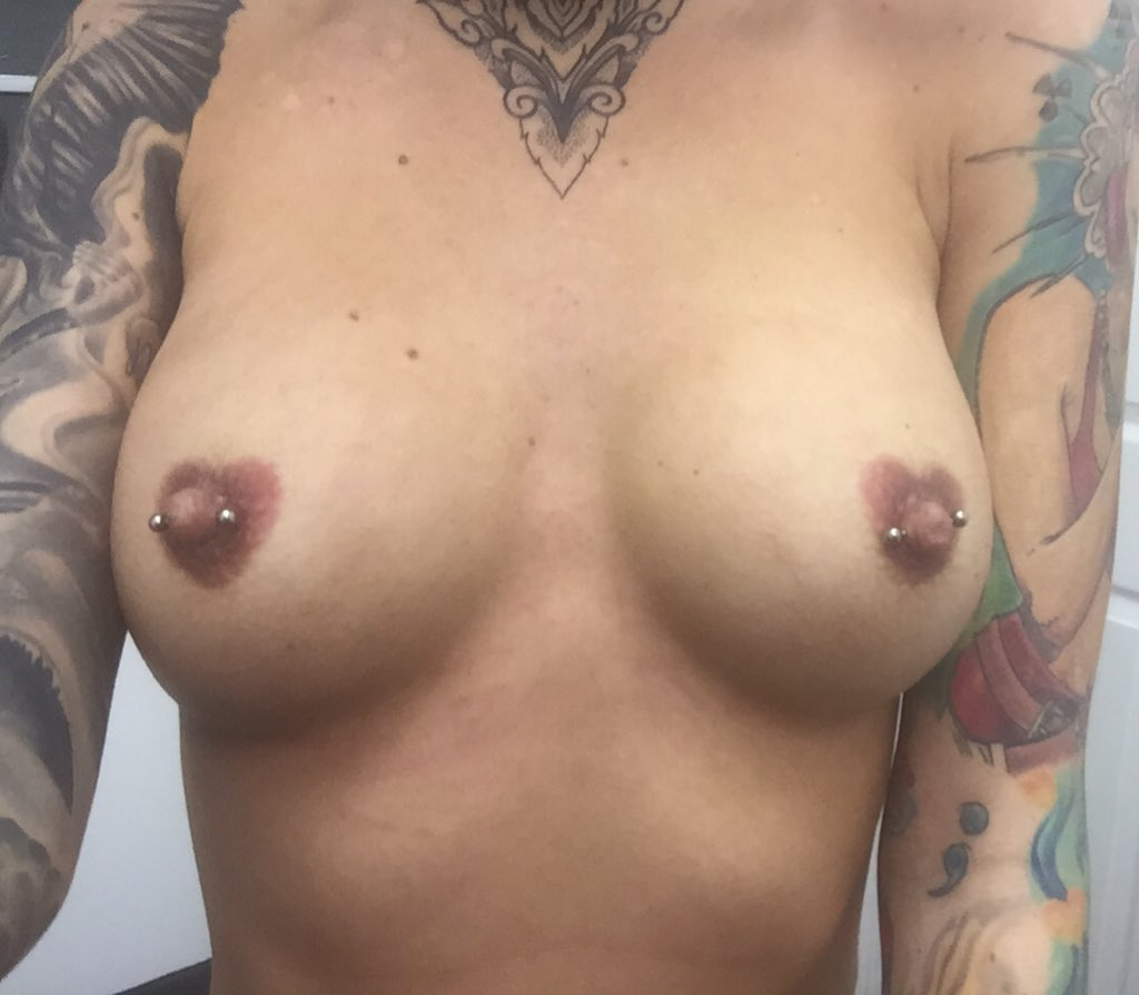 Love my new nipples thank you done today at ? ? yJlZvHtA7