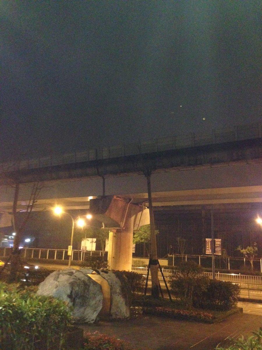 えみつんの力で雨止みました in台北(わかりにくいですが) https://t.co/6DahWcXHyx