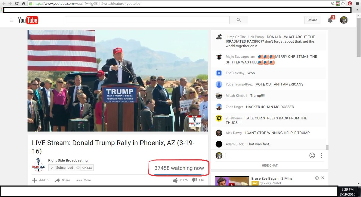 Protesters can't stop those who want to receive him! Trump connects with over 47,000 today (not including TV)! https://t.co/n05w6iTzOl