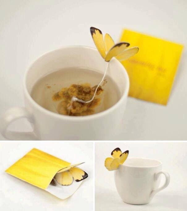 Butterfly Tea designed by Yena Lee. Source: @yankodesign #tea #design #vision #art #butterfly https://t.co/DikMamXj63