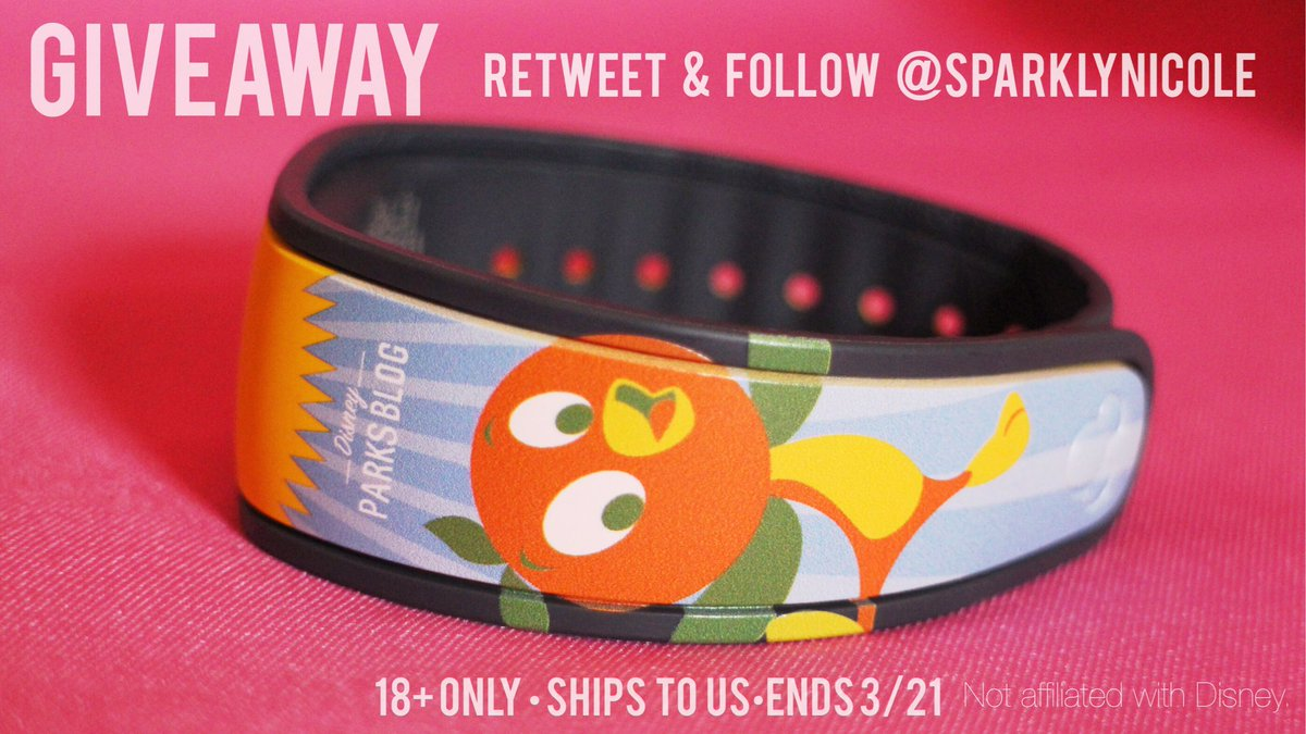 Retweet & follow to enter to win this Orange Bird magic band! Ends 3/21. More details on image.