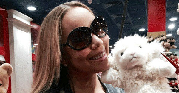 Mariah Carey took 'dem babies to the toy store and cuteness followed: