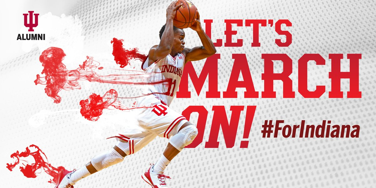 AND WE'RE ON TO THE SWEET SIXTEEN! The Hoosiers win!!! #IUvsUK #ForIndiana #GoIU #MarchMadness https://t.co/sQBE1OeRcw