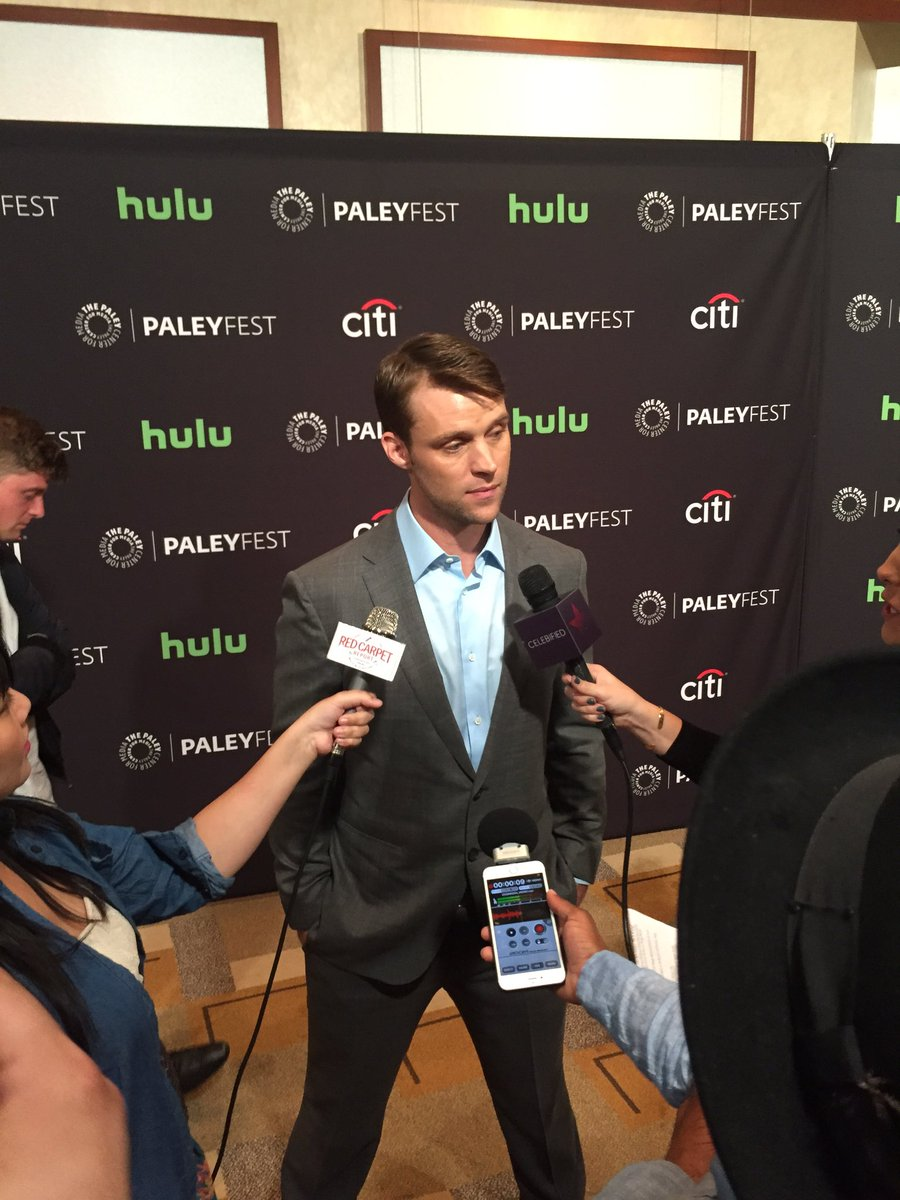 Last man standing on the red carpet...@Jesse_Spencer #ChicagoFire #PaleyFest https://t.co/ZM0R7fEsZh