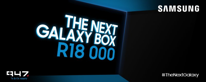 4000 #TheNextGalaxy retweets unlock the box! RT & you can stand a chance to WIN R18000 with @SamsungMobileSA https://t.co/KdgREecTRd