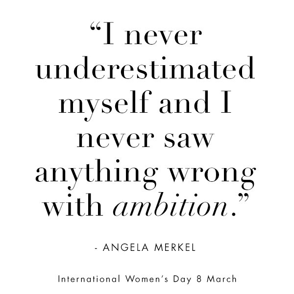 Happy #InternationalWomensDay! Two inspiring quotes from two powerful women to start your day... https://t.co/GKuHfzPI12
